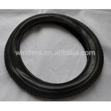 """14 """"pneu de borracha pneumática da bicicleta do ar / tubo interno da bicicleta"""