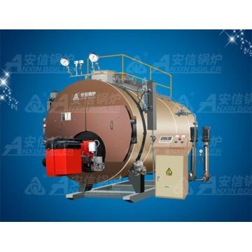 Horizontal Indústria Óleo (Gás) Condensação Bearing Caldeira De Vapor Wns20