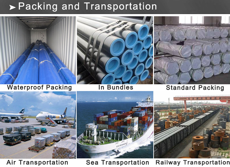 steel pipe packing and transportation