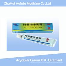 Onguent OTC de crème d'acyclovir