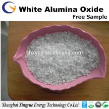 Sandblasting 60 mesh branco alumínio fundido areia / branco alumínio óxido areia