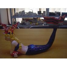 Keramische Meerjungfrau
