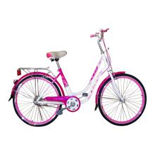 Verschiedene Farbe Lady Bike City Fahrräder