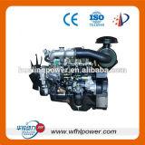 electric start multi-cylinder marine gasl engine