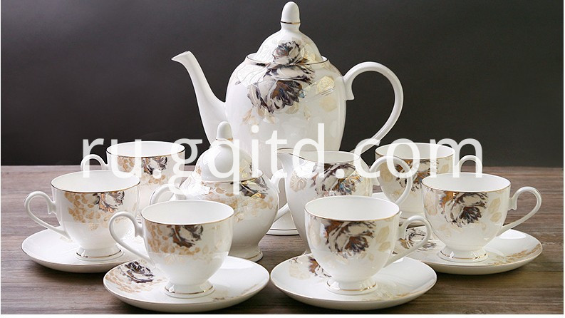 European style tea sets