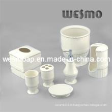 Accessoires de salle de bains en porcelaine de qualité supérieure (WBC0412A)