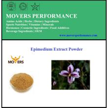 Poudre d'extrait d'épimedium biologique de haute qualité