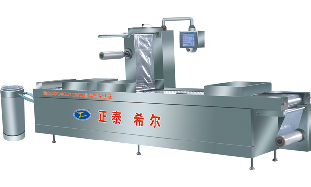 Order Type DZR Continuous Stretch Vacuum Packing Machines