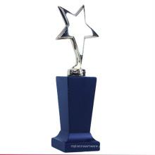 troféu de cristal quente da copa do mundo da venda