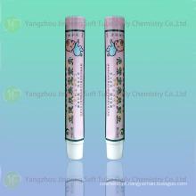 Alumínio e tubo de plástico laminado para pele cuidados creme