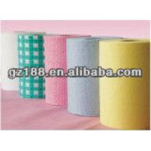 Non-сплетенная ткань для чистки ткани в малые крены