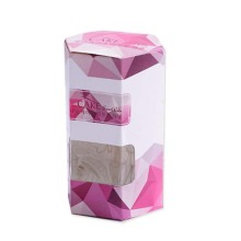 Hexagon Cookie Backery Paper Packaging Boxes with Window