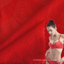quick dry polyamide 85 elastane 15 texture mesh jacquard fabric for underwear