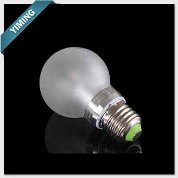 5W alta luz LED regulable bombilla luces