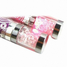 e cigarette ego dimond battery with Shining LED light crystal battery