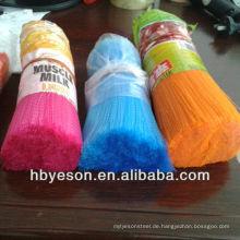 Haustier Polyester / pp / pvc Filament / Faser / Borste in gekräuselt / Flaggable niedrigen Preis