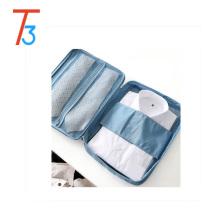 bolso de cordón de poliéster Camisa y corbatas Organizador de bolsa de almacenamiento Camisa sin arrugas Embalaje de viaje Titular de ropa