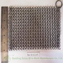 Limpador de ferro fundido Aço inoxidável Garrafa de correio Gaveta Pan Panelas de cozinha
