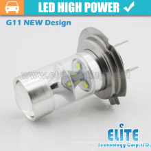 2015 neueste 45 watt führte vorne nebelscheinwerfer h7 buchse basis auto led glühbirne
