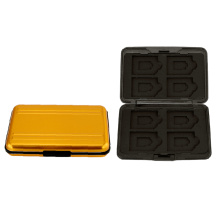 8SD 8TF Memory Cards Hardshell Storage Gift Case