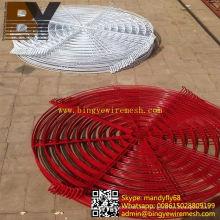 Cubierta de ventilador recubierta de polvo de alta calidad