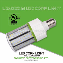 A melhor lâmpada de venda do milho do diodo emissor de luz IP64 / UL 30W conduziu o bulbo da espiga de milho do diodo emissor de luz da lâmpada do milho / E26