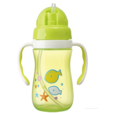 Plastic baby drinkfles trainingsbeker 380 ml