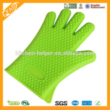 Hot-selling Factory Price Five Finger Non-Stick Silicone BBQ Glove