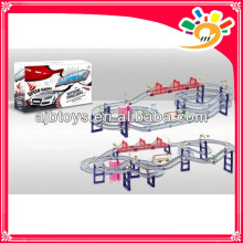 DIY magic track toy railway train toy track car B/O