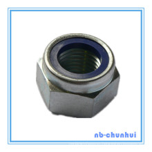 Hex Nut Nylon Lock Nut-DIN985