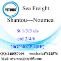 Shantou Port Sea Freight Shipping ke Noumea