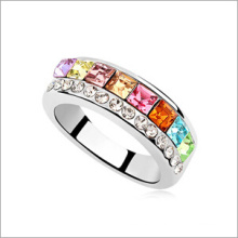 VAGULA Zircon Copper Fashion Finger Ring