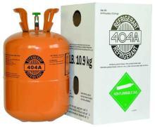 R404a Refrigerant -10.9kg packing r404a refrigerant gas
