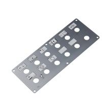 Panneau de commutateur tactile capacitif argenté