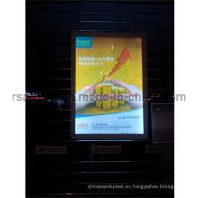 Caja de luz caliente del marco del cartel de las ventas LED