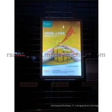 Chaude boîte à lumière de cadre d'affiche de ventes de LED