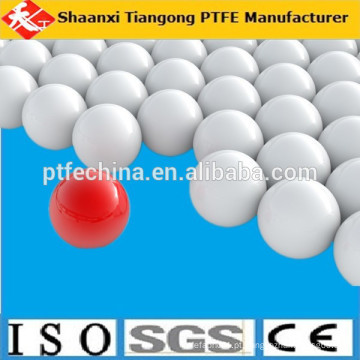 Alta precisão ptfe bola, sólido ptfe bola, plástico pom bola