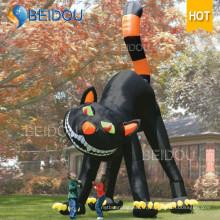 Costume d'Halloween Décorations gonflables Chat noir gonflable Halloween