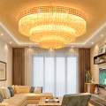 classic living room crystal ceiling light
