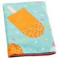 Microfiber rectangle penguin unisex beach towels for baby