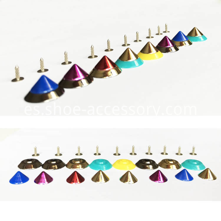 Multicolored ABS Studs for LeatherCrafts