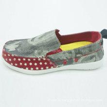 New Style Fashion Men′s Shoes Slip-on Canvas Shoes Comfort Shoes