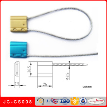 Jc-CS008 Sello de cable de acero ajustable para contenedor y sello de cable personalizado