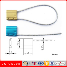 Jc-CS008 Cable Seal Security Steel Cable Lock and Wire Cable