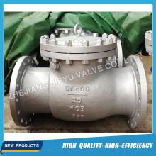Válvula de retención DIN3202 Pn16-Pn160 Wcb Body Swing