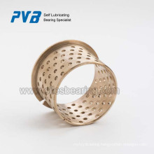 Bronze Sleeve Bush,wrapped self lubricating bearing,flanged bushing