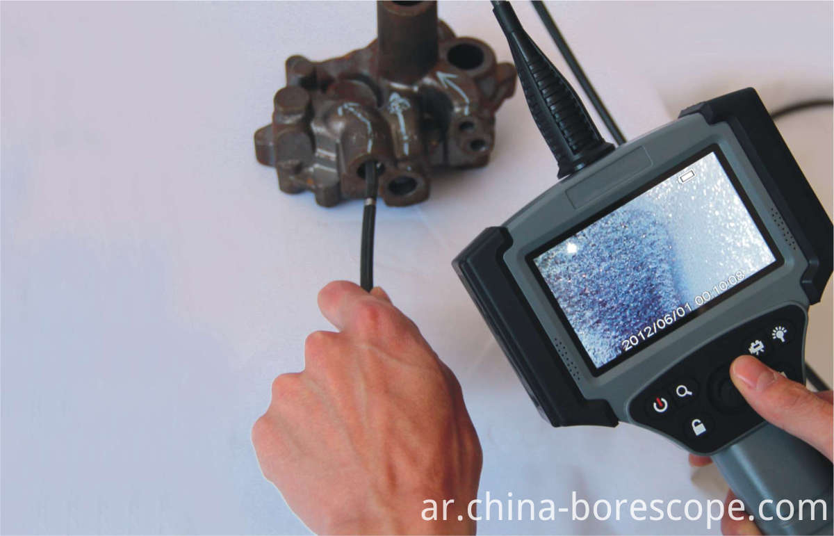 NDT video borescope