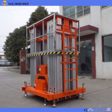 Aluminum alloy six masts aerial work platform