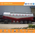 3-axle 40m3 bulk cement transport semi trailer