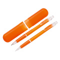Plastic promotion pen set